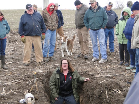 Dr. Jamie Patton, UW-Extension ag agent from Shawano
