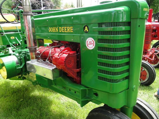 John Deere is the featured brand at the annual Ixonia Vintage Tractor Expo at a new location in Ashippun this year, May 26 and 27.