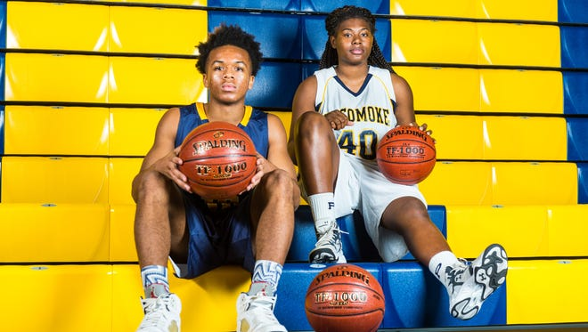 Led by Tyler Nixon and Dynasia Christian, Pocomoke boys and girls basketball take the top spot in the South to open the season.