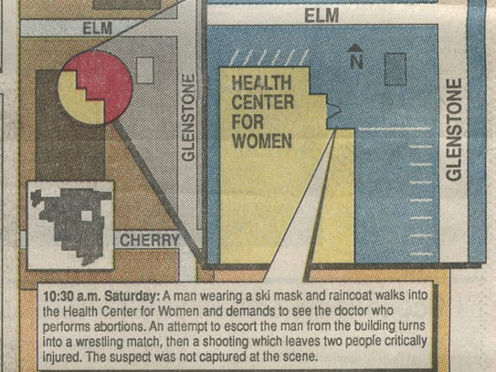 A graphic the News-Leader ran the day after the shooting.