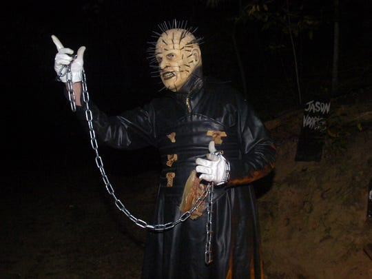 Pinhead's Graveyard specializes in frightful thrills in a wooded area near Canton.