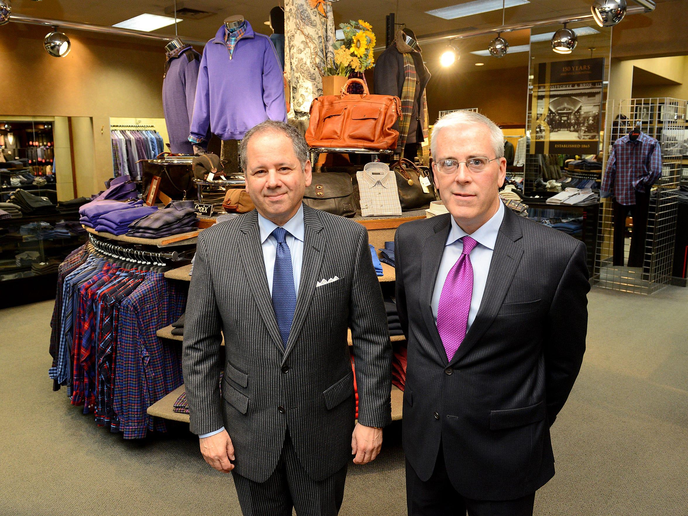 Fourth-generation owner David Kositchek, left, and
