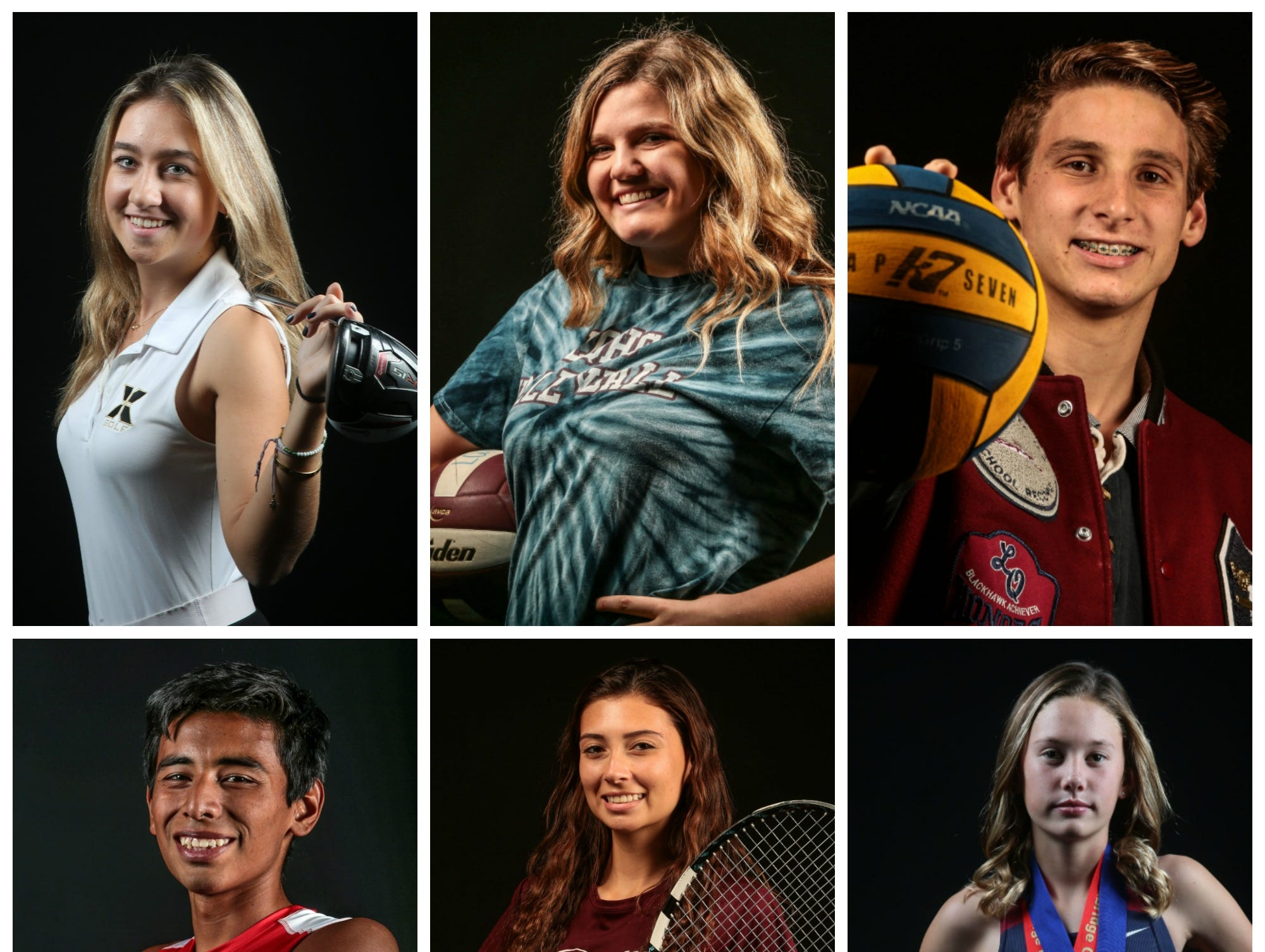 The top fall athletes of 2016.