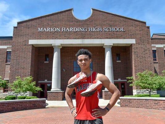 Marion Harding track Nick Middlesworth