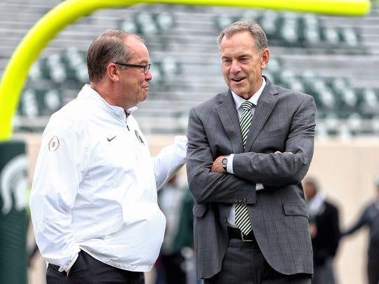 Michigan State University athletic director Mark Hollis,