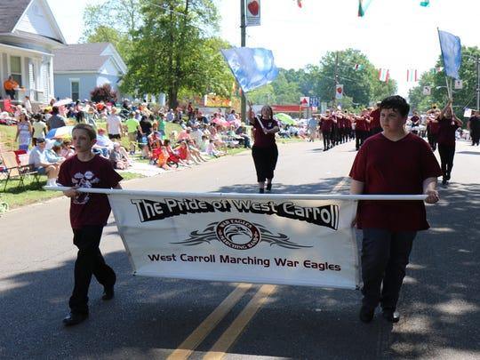 Strawberry Festival Parade, May 11, 2018.