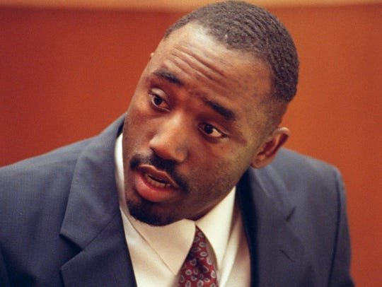Benjamin Atkins during his trial in February 1994.