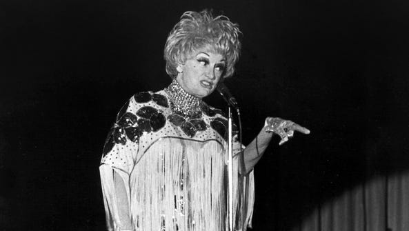 February 22, 1979 - Funny lady Phyllis Diller made