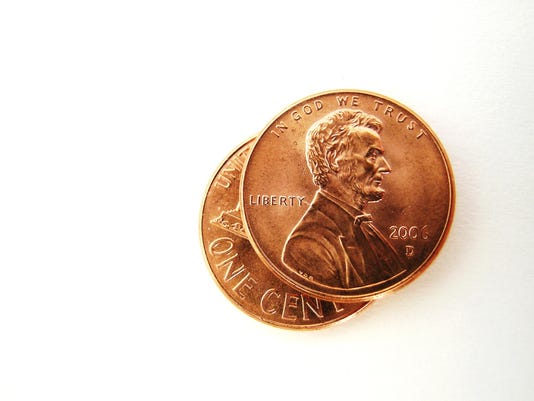 Two Pennies