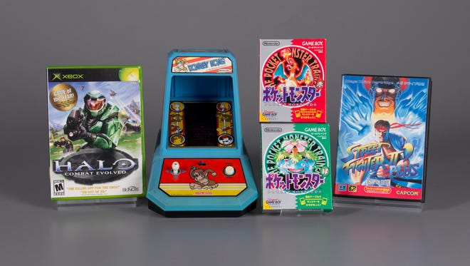 This year's World Video Game Hall of Fame include Halo: Combat Evolved, Donkey Kong, Pokemon Red and Green and Street Fighter II.