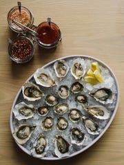 Oysters at Henrietta Red.