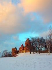 Olana, the home of Hudson River School artist Frederic Edwin Church outside Hudson, New York.