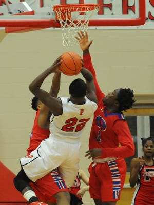 Evangel played spoiler against Parkway on Friday with a 55-51 win.
