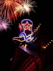 The New Year's Eve Boot Drop on Prescott's Whiskey