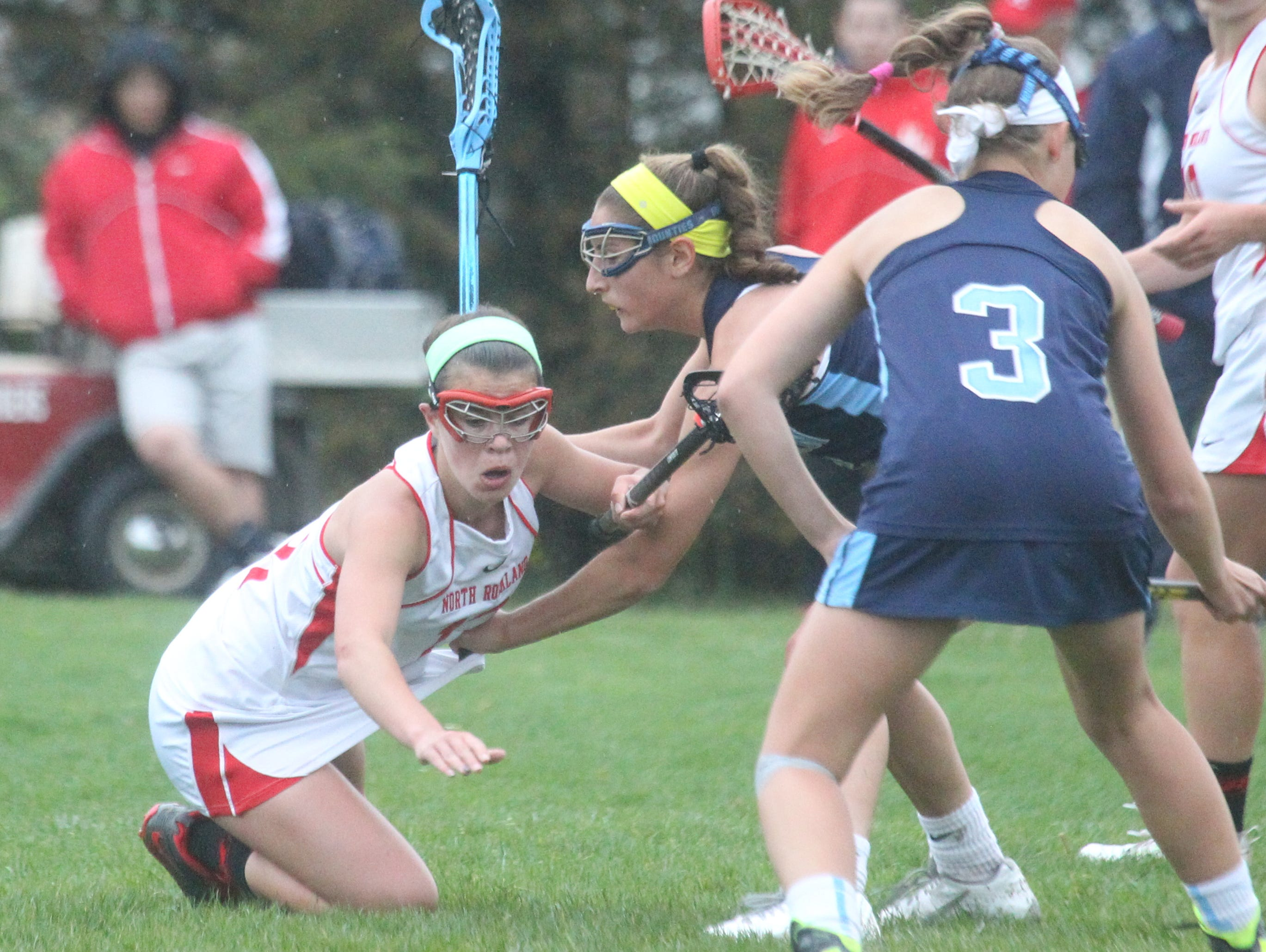 North Rockland lacrosse beat Suffern 8-7 at North Rockland May 4, 2016.