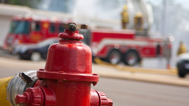 The fire was about a quarter-mile northwest of Oneida Nation Elementary School in Oneida.