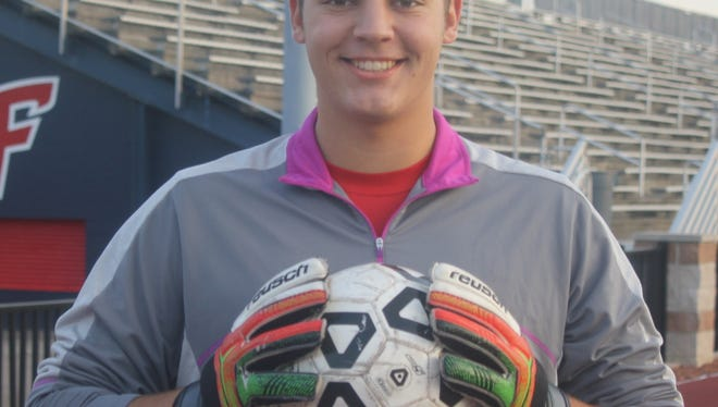 Livonia Franklin senior goal-keeper Ryan Prohaska has come up big on several occasions for the Patriots.