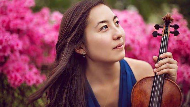 The last Camerata Musica concert of the current season will feature a string quartet, which includes Lisa Fujita (pictured) on violin, playing string quartet music by George Gershwin, Ludwig van Beethoven and Antonin Dvorak. The free concert is 2:30 p.m. May 21 at Salem Public Library's Loucks Auditorium.