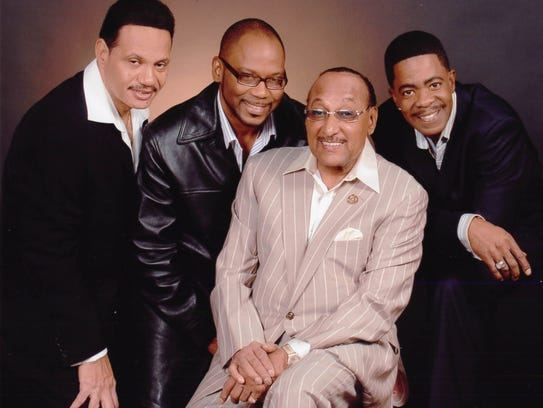 The Four Tops take the stage at 9 p.m. Friday at the