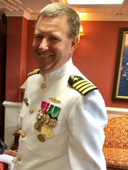Dan Seigenthaler, a 1995  Haddonfield High School graduate, and retired  Navy captain, now works as a federal civil service  project engineer on naval combat system improvements.