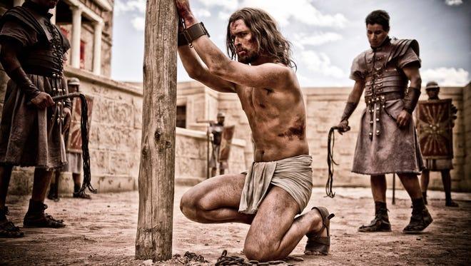 """Jesus (Diogo Morgado) undergoes trial in """"Son of God."""""""