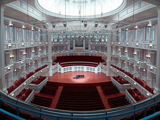 The Palladium, which opened in 2011, is a 1,600-seat