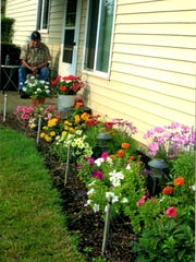 William ?Bill? Lapschies of Sublimity enjoys the outdoors and works in his flower beds keeping them cared for to perfection. He will celebrate 100 years with a gathering 2-5 p.m. Saturday, April 2, at Maurice?s Bistro 390 SE Church St, Sublimity Ore.
