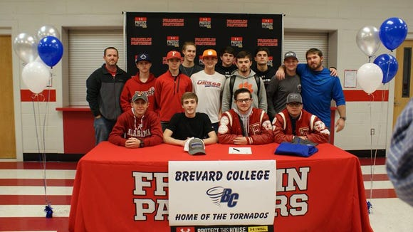 Franklin senior Hayden Price has signed to play baseball