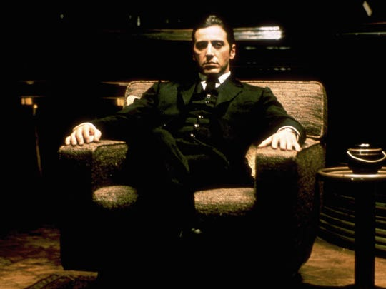 """Al Pacino's Michael took over for Marlon Brando's Vito as the don in """"The Godfather: Part II"""" (1974)."""