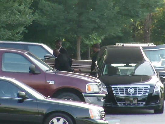 APTOPIX Bobbi Kristina Brown Funeral