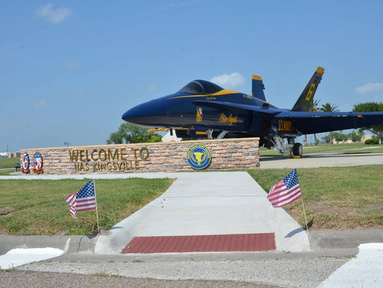 Naval Air Station Kingsville placed second in the small