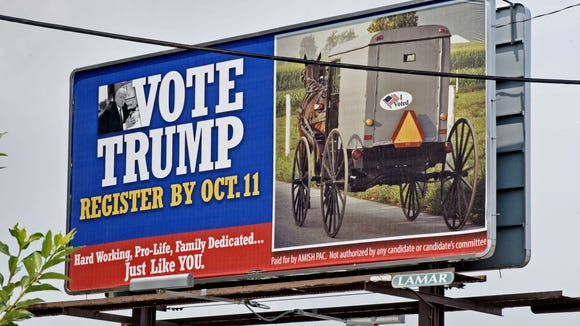 A group of Republican strategists is using billboards