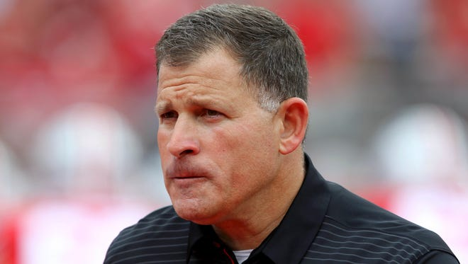 Ohio State Buckeyes defensive coordinator Greg Schiano brought respectability to Rutgers during his 11 seasons as the Scarlet Knights' head coach.