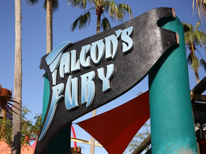 Falcon's Fury is North America's tallest freestanding drop tower, opening this spring at Busch Gardens Tampa.