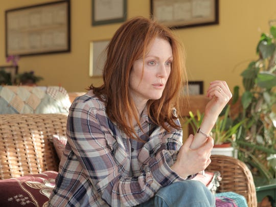 """Julianne Moore received her fifth Oscar nod and is the clear favorite to win for her role in """"Still Alice."""""""