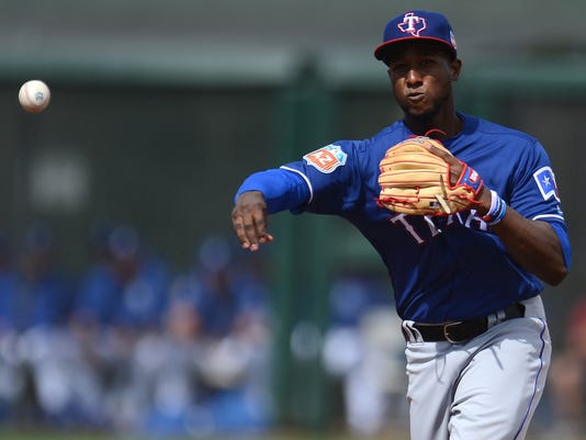 MLB: Spring Training-Texas Rangers at Kansas City Royals