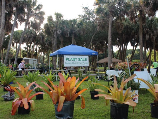 The Garden Club of Fort Pierce's Plants in the Park is this weekend at Glidden Park.