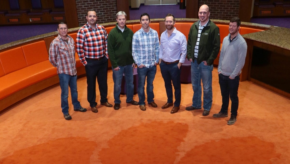 Anderson Company Proud To Install Flooring For New Clemson Football Facility