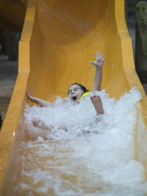 The water slides aren't the only thing that may make you scream: A Monster Splash Halloween Party will take place Friday, October 26 from 4 to 9 p.m. at Sahara Sam's, West Berlin.
