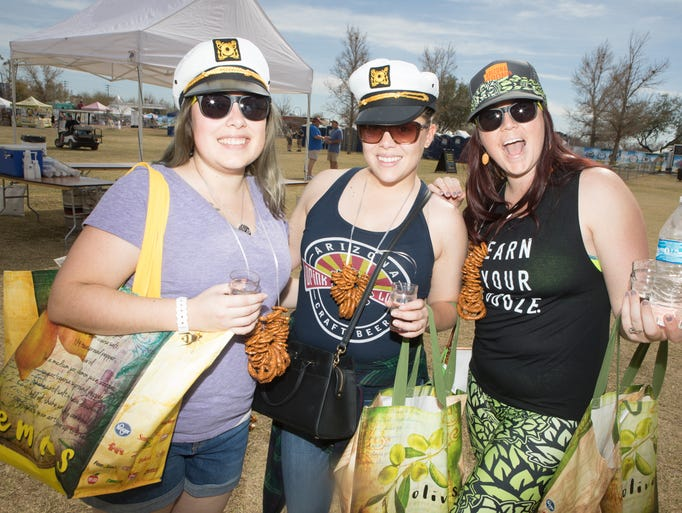 Thousands of beer enthusiasts packed Steele Indian