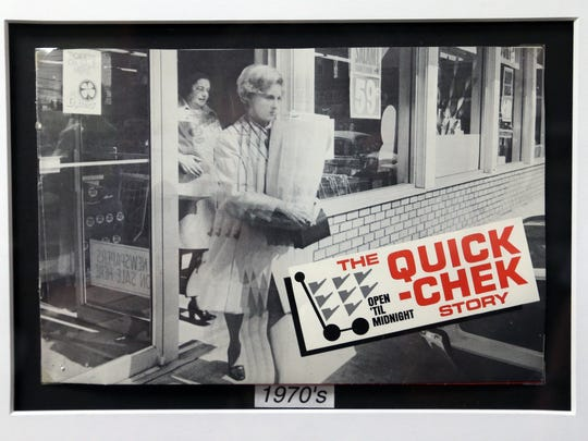 Dean Durling, the president of Quick Chek is photographed in his office at Quick Chek headquarters in Readington on Wednesday July 20, 2016. A photograph taken in front of one of the very first Quick Chek stores in New Jersey.