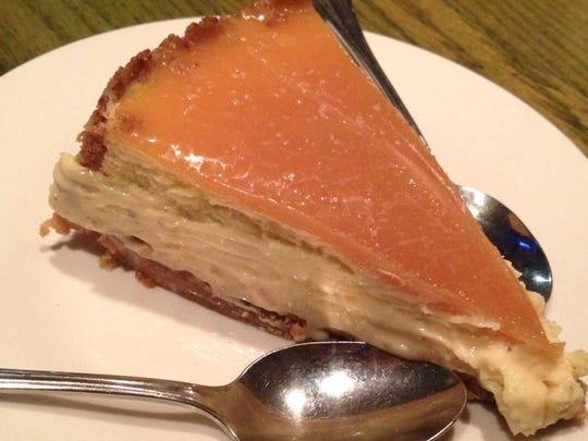 Cheesecake at Saint Street Inn.