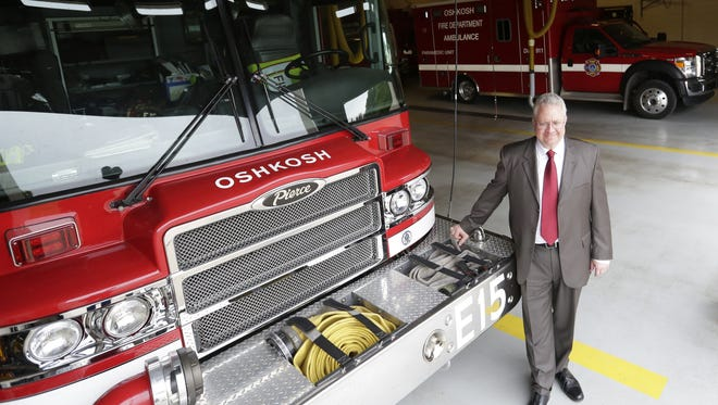 Mike Stanley is the new Oshkosh fire chief. He formerly served as a commander with Aurora (Colo.) Fire Rescue.