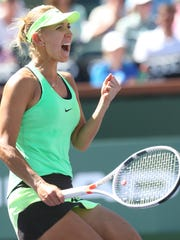Elena Vesnina, a longtime doubles player, has won titles in doubles at Indian Wells, and is the returning singles champion.
