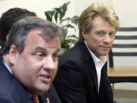 Chris Christie, Jon Bon Jovi