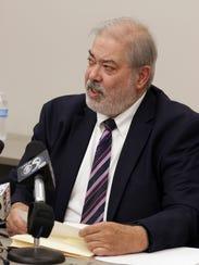 Sheboygan County District Attorney Joe DeCecco makes