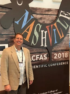 Eric A. Arp, D.P.M., FA.C.F.A.S. recently attended the 76th annual Scientific Conference of the American College of Foot and Ankle Surgeons in Nashville, Tenn.