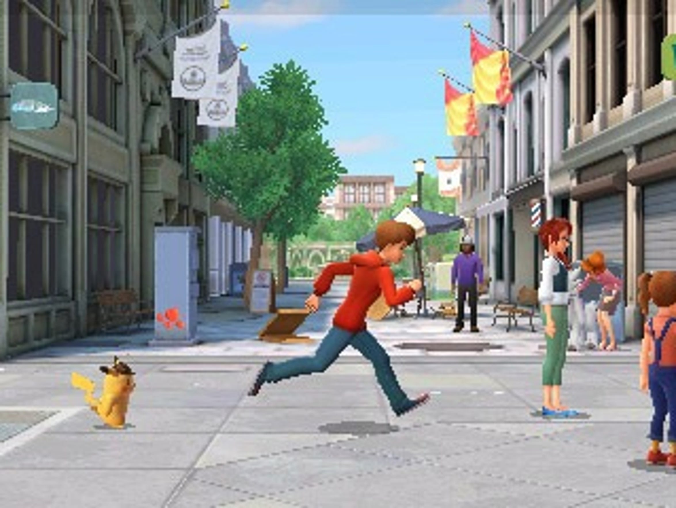 Detective Pikachu for Nintendo 3DS.