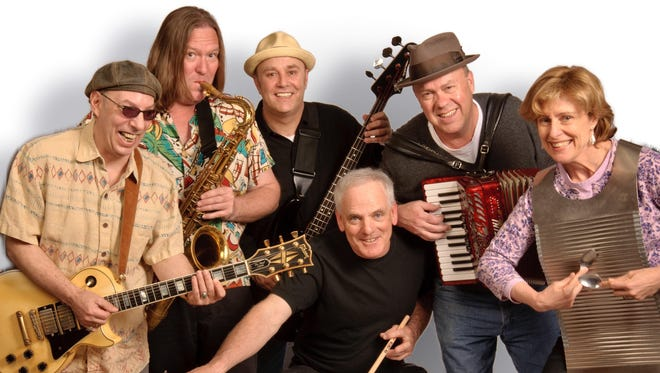 Zydeco-a-Go-Go plays 2 p.m. Sunday at the Manalapan Branch of the Monmouth County Library.