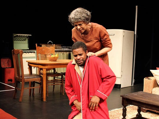 "Petronia Paley and Jimonn Cole starred in a production of ""A Raisin in the Sun"" at Crossroads."